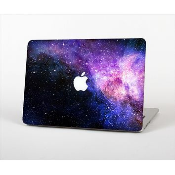 The Vibrant Purple and Blue Nebula Skin Set for the Apple MacBook Pro 13""