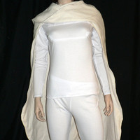 Star Wars, Padme, White Battle Outfit, Custom Made to Order