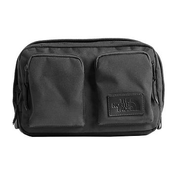 Kanga Fannypack in Asphalt Grey Heather & TNF Black by The North Face