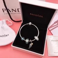 HCXX 107 PANDORA Guardian of Love 925 Silver Bracelet String Set You are so loved