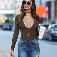 Women's Fashion Summer Hot Sale Sexy Slim One-piece [9408299468]