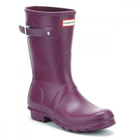 Hunter Original Womens Violet Short Wellington Boots