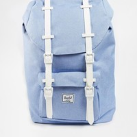 Herschel Supply Co Little America Backpack in Chambray Blue