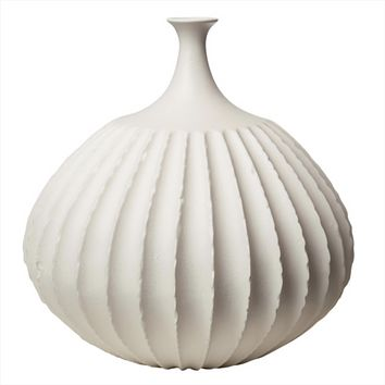 Sawtooth Ceramic Vases