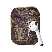 LV Louis Vuitton Vintage Airpod Case Iphone