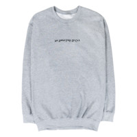 No Tears Left To Cry Grey Crewneck + Digital Single