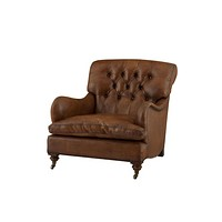 Tufted Leather Club Chair | Eichholtz Caledonian