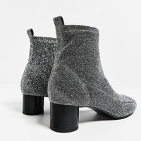 SHINY SOCK ANKLE BOOTS New