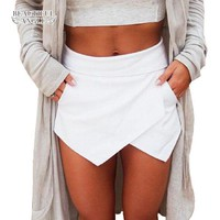 *online exclusive* high waist skort