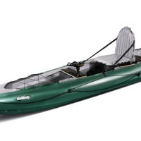 Halibut Inflatable Fishing Kayak by Innova - Single Person Up to 445 Lbs
