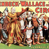 Circus Poster An Army Of Clowns