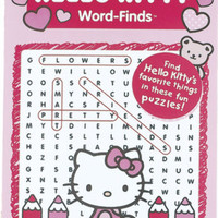 Hello Kitty Word Find Book 96 page Assorted Titles Case Pack 12