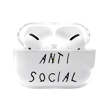 Anti Social Airpods Pro Case