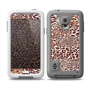 The Wild Leopard Print Skin for the Samsung Galaxy S5 frē LifeProof Case
