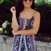 All Mixed Up Romper