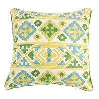 Pre-owned Moroccan Crewel Pillow