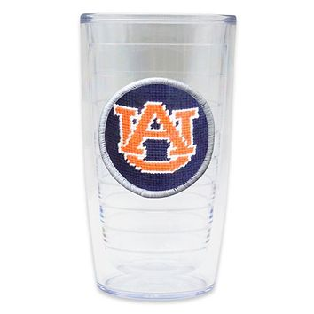 Auburn University Needlepoint Tumbler by Smathers & Branson
