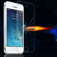 Front Explosion-Proof Anti Shatter Tempered Glass Film Screen Protector For Apple iPhone 4 4s 5 5s SE 5c 6 6s 6s Plus 7 7 Plus