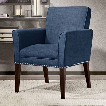 Madison Park Solid Tyler Arm Chair