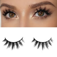 Milanté BEAUTY Tease Real Mink False Lashes Black Natural Thick Long Full Reusable Fake Strip Eyelashes