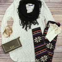 Knit to Be Sweater: Oatmeal
