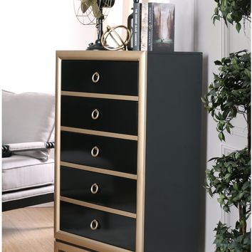 Zorah Contemporary Two-Tone 5-Drawer Chest