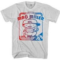 Mac Miller - Mens Poster T Since '99 T-Shirt in Ice Grey