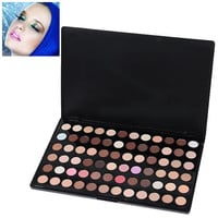Multifunction Rectangle Box Makeup 72 Colors Eye Shadows Palette