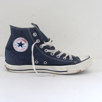 90s CONVERSE All Star high tops tennis shoes // size mens 9 womens 11