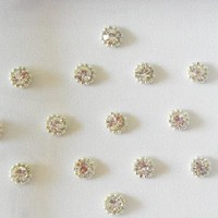 65 Silver shimmer small size Dot bindis,Bindis Online,faux Nose stud silver,White fake nose stud,Forehead labret stud,Nail art decoration