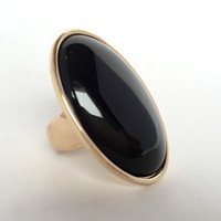 Black Mod Stretch Ring