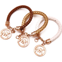 Gift Awesome Great Deal Shiny New Arrival Bangle Hot Sale Accessory Stylish Leather Bracelet [9664458575]