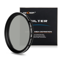 52mm K&F Concept Circular Polarizing CPL Filter for Canon 600D Nikon D7100 D3200 = 1841739332