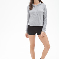 FOREVER 21 PLUS Stretch-Knit Shorts