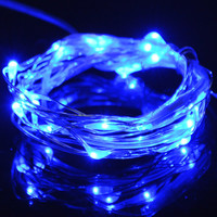 2M 3M LED String Lights Christmas LED Christmas Light Tape New Year Fairy Light Submersible LED Waterproof Battery Operated Lamp