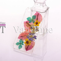 iPhone 5 case, iPhone 4 case, iPhone 4s case, iPhone 5s case, iPhone 5c case, Galaxy S4 S5, Note 3, Pressed Flower case, Real Flower case