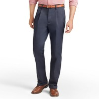 IZOD American Chino Classic-Fit Wrinkle-Free Pleated Pants