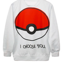 I Choose You Pullover