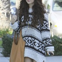 Jennifer Haley Sophisticated Shopper in Tan As Seen on Selena Gomez