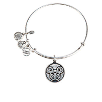 Mickey Mouse Filigree Bangle by Alex and Ani - Silver