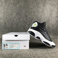 Air Jordan 13 ¡°Love & Respect¡± Black/White Basketball Shoes 36-39-1