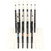 Retractable Waterproof Eyebrow Pencil: Assorted Color Options