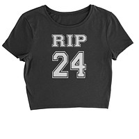 RIP Rest In Peace 24 Cropped T-Shirt
