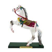 Trail of Painted Ponies from Enesco Victorian Christmas Figurine 8.5 IN
