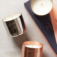 Eclectic Mini Candle Gift Set by Anthropologie Gold Set Of 3 Candles