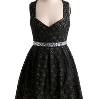 Eyelet Up the Room Dress