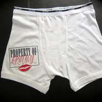 PROPERTY OF... UNDERWEAR  for men wedding gift, groom gift, husband, birthday gift father's day gift