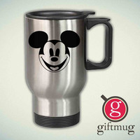 Cute Disney Mickey Mouse 14oz Stainless Steel Travel Mug
