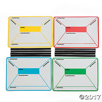 Four Square Dry Erase Magnetic Sheets