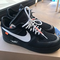 Off-White x Nike Air Force 1 '07 low-top all-match casual sports shoes
